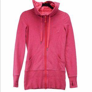 Lululemon Pink Long Stride Jacket Size 4